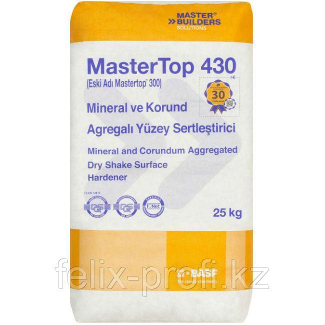 MasterTop 430 Red – сухая смесь, предназначенная для упрочнения поверхности бетонных полов. (25 кг).