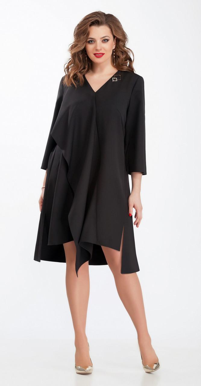 Платье TEZA-102, черный, 50