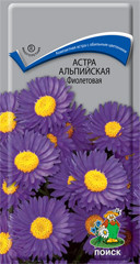Астра альпийская Фиолетовая 25шт/0,04гр