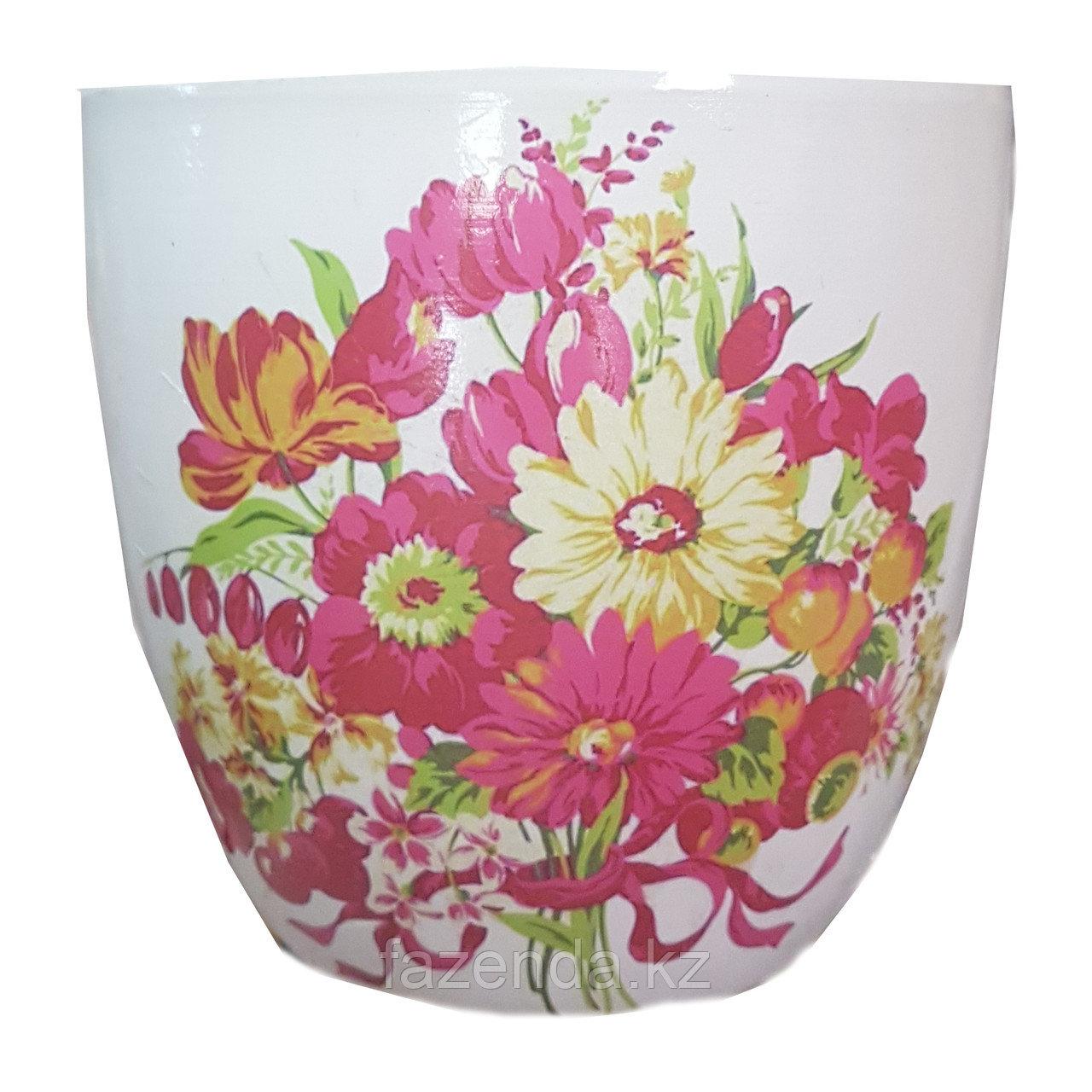 Горшок для цветов керамический Краски Лета