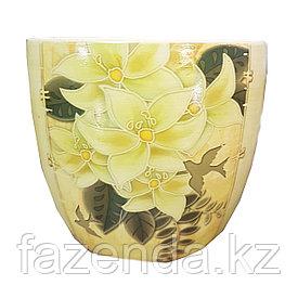 Горшок для цветов керамический Лилия