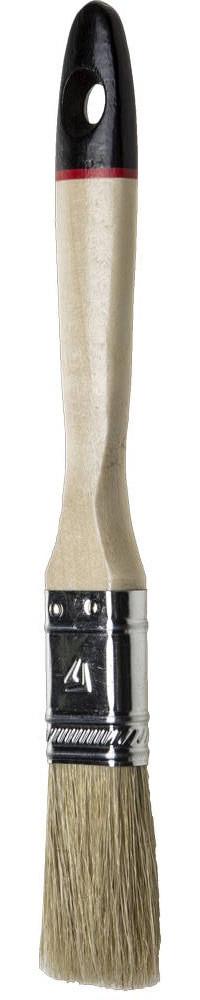 """Кисти плоские STAYER """"UNIVERSAL-EURO"""", светлая натуральная щетина, деревянная ручка"""