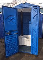 Туалетная кабина с баком накопителем