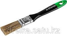 """STAYER """"KANEKARON-EURO"""". Кисти плоские, искусственная щетина, деревянная ручка"""