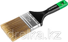 """STAYER """"KANEKARON-EURO"""". Кисти плоские, искусственная щетина, деревянная ручка, фото 2"""