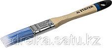 """Кисти плоские STAYER """"EURO"""", """"AQUA"""" для воднодисперсионных и акриловых ЛКМ, искусств щетина, деревян ручка, фото 3"""