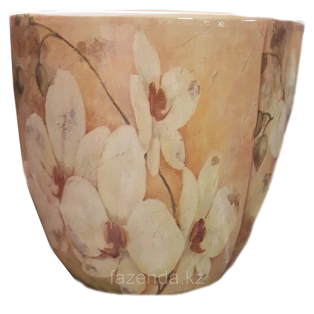 Горшок для цветов керамический Орхидея