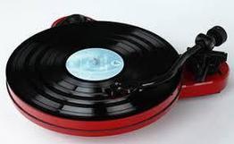 Виниловый проигрыватель Pro-Ject RPM1 Carbon 2M Red Черный лак