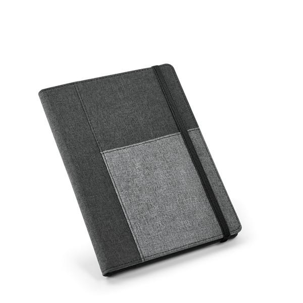 Папка с блокнотом A5 полиэфирная ткань, PESSOA