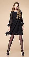 Платье Romanovich-1-1744, черный, 46