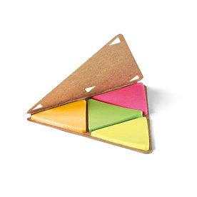 Блокнот стикеров в форме треугольника, FAULKNER
