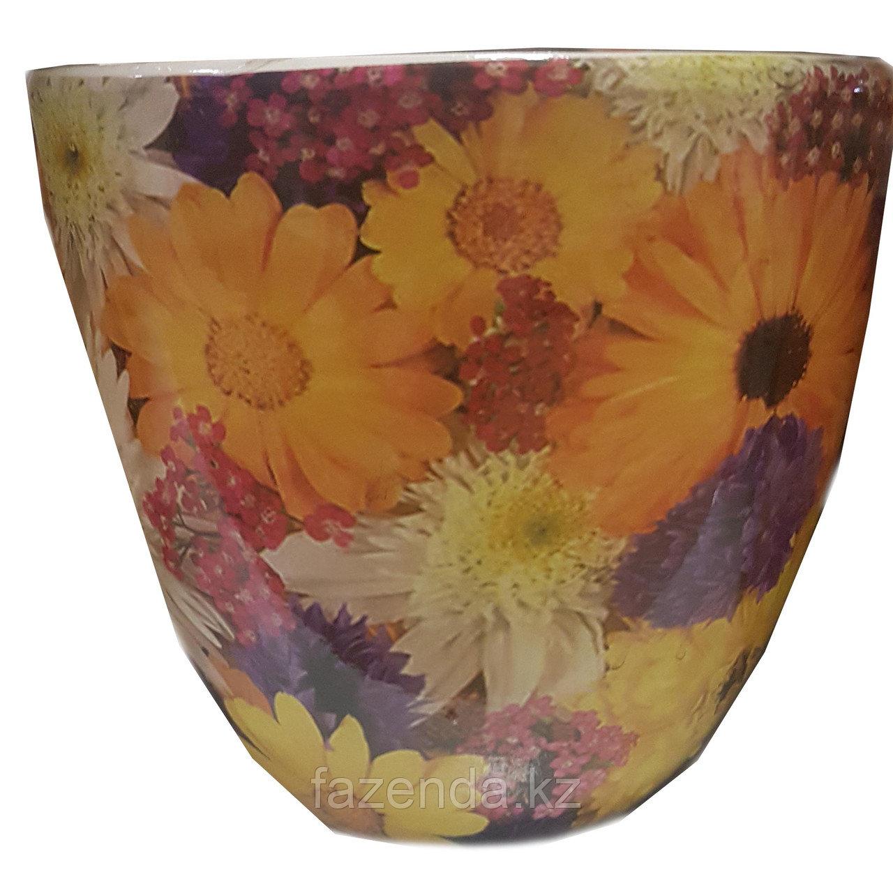 Горшок для цветов керамический Луг 15х13