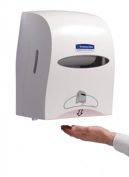 сенсорный диспенсер для бумажных полотенец kimberly clark