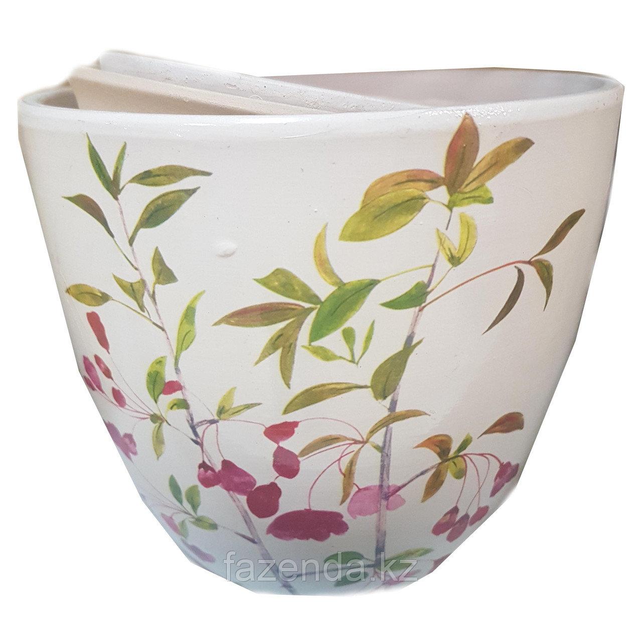 Горшок для цветов керамический Полевые Цветы