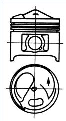 Поршни M110(86,00mm)(KS)(93 582 600)(стд)