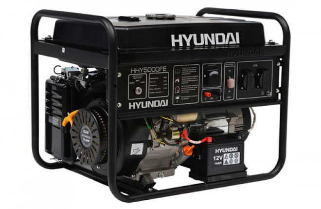 Генератор HYUNDAI HHY5000FE, фото 2