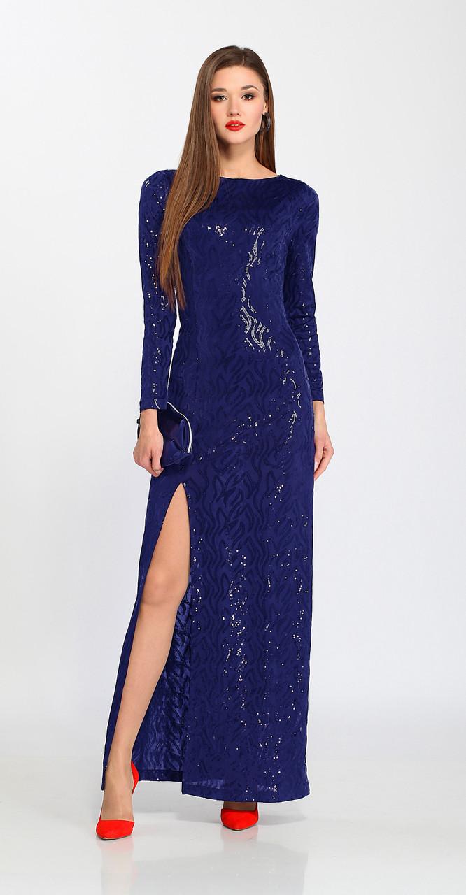 Платье Lady Secret-3566/2, василек, 42