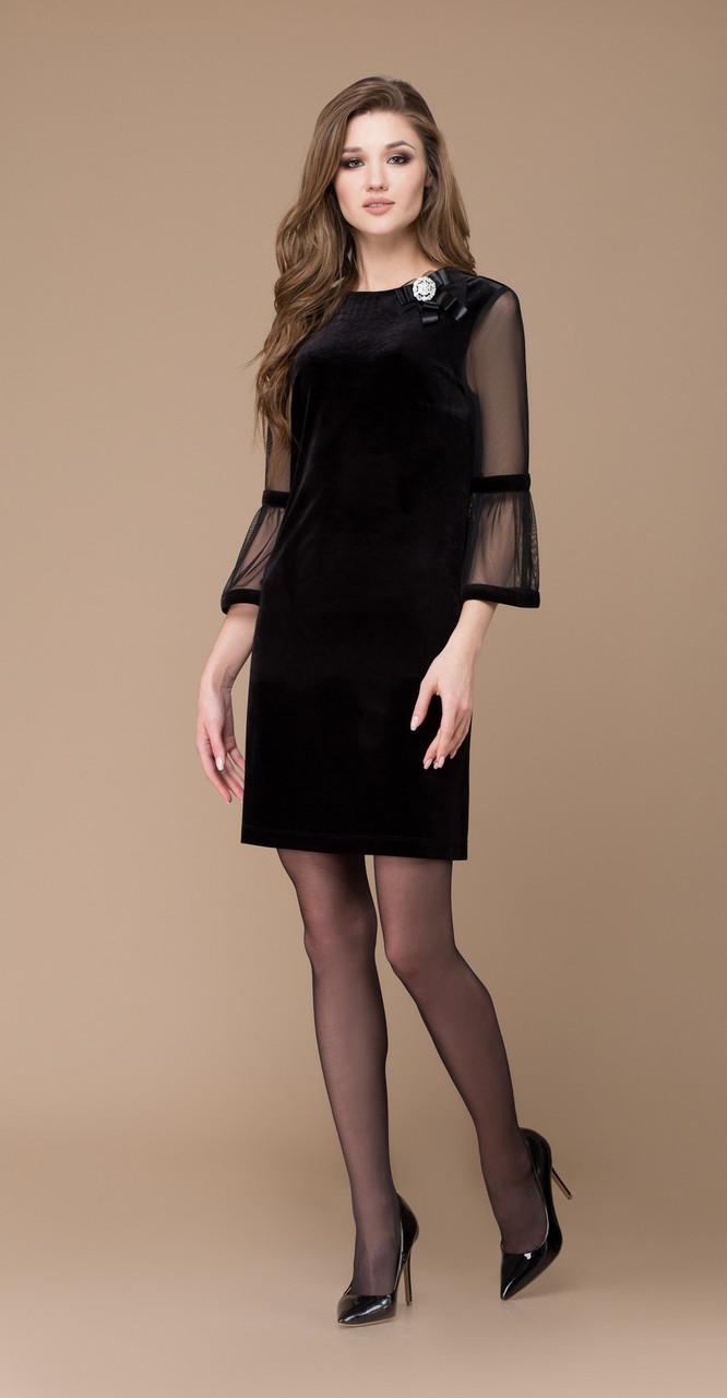 Платье Svetlana Style-1169, черный, 44