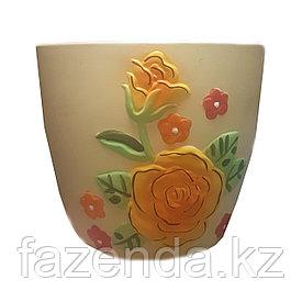 Горшок для цветок керамический Кармен