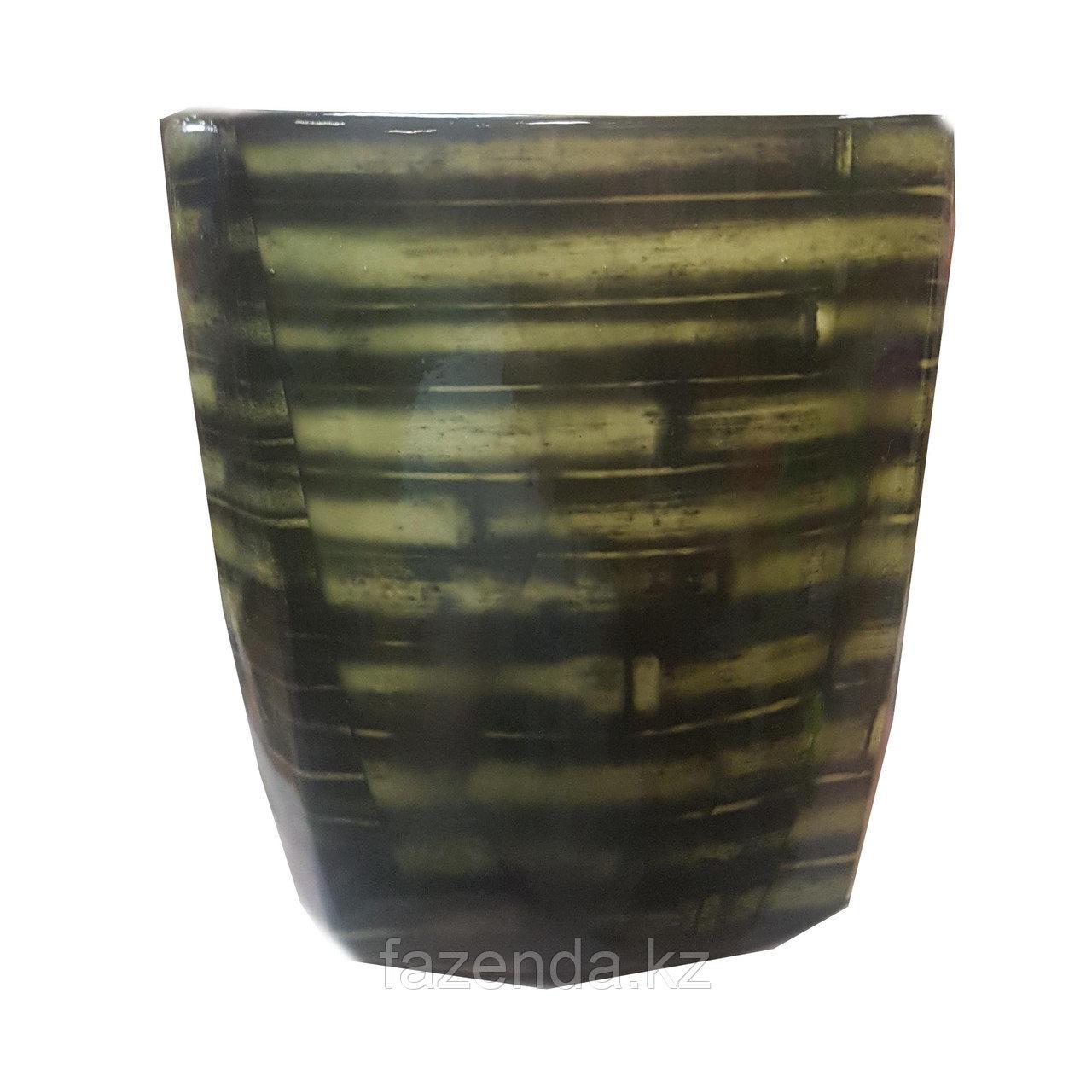 Горшок для цветов керамический Квадрат Трансфер