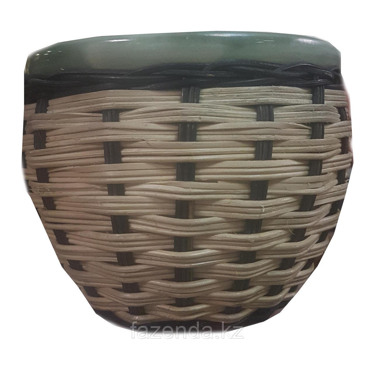 Горшок для цветов керамический Плетень