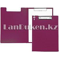 Папка планшет А4 с зажимом (розовая)