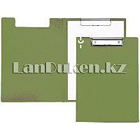 Папка планшет А4 с зажимом (светло-зеленая)