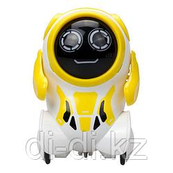 Робот Покибот желтый круглый