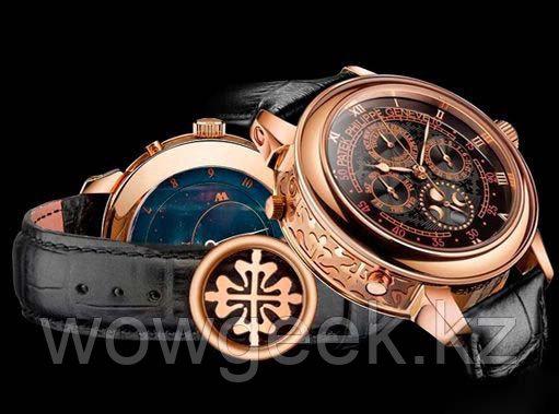 Мужские механические часы Patek Philippe Sky Moon Tourbillon (качественная реплика)