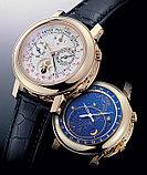 Мужские механические часы Patek Philippe Sky Moon Tourbillon (качественная реплика), фото 4