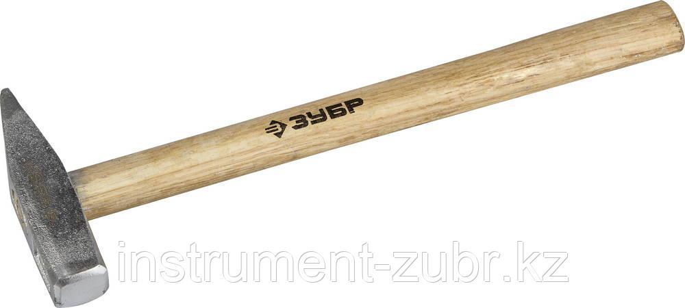 Молоток слесарный 400 г с деревянной рукояткой, тип МСЛ, ЗУБР Мастер