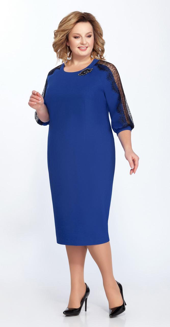 Платье Pretty-825, синий, 56