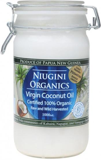 Масло кокосовое холодного отжима универсальное (пищевое), 1000 мл