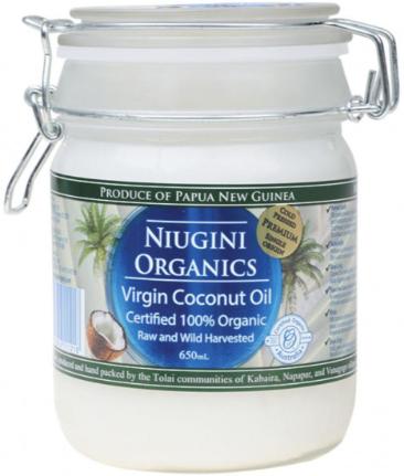 Масло кокосовое холодного отжима универсальное (пищевое), 650 мл
