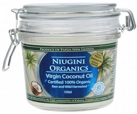 Масло кокосовое холодного отжима универсальное (пищевое), 320 мл
