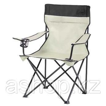 Кресло складное Coleman Standard quad, Нагрузка (max): 113 кг, Подстаканник, Подлокотники, Цвет: Хаки, Упаковк
