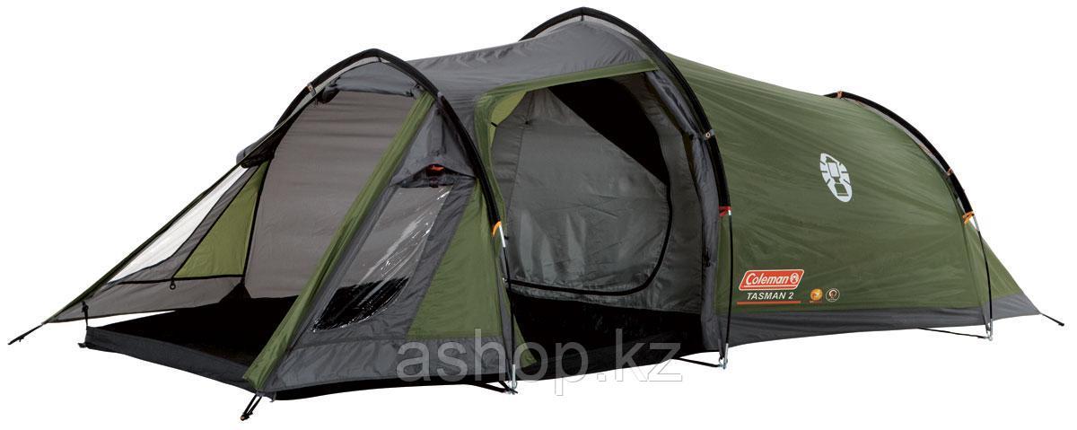 Палатка кемпинговая Coleman Tasman 2, Кол-во человек: 2, Входов/комнат: 2/1, Тамбуров: 1, Внутренняя палатка: