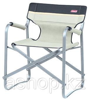 Кресло складное Coleman Deck chair, Нагрузка (max): 113 кг, Подлокотники, Цвет: Хаки, Упаковка: Розничная, (20