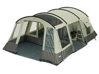 Палатка кемпинговая High Peak Paros 6, Кол-во человек: 6, Входов/комнат: 2/2, Тамбуров: 1, Внутренняя палатка:
