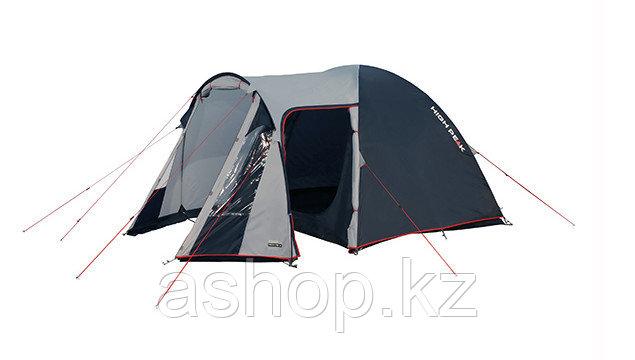 Палатка кемпинговая High Peak Tessin 5, Кол-во человек: 5, Входов/комнат: 2/1, Тамбуров: 1, Внутренняя палатка - фото 1