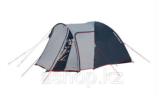 Палатка кемпинговая High Peak Tessin 5, Кол-во человек: 5, Входов/комнат: 2/1, Тамбуров: 1, Внутренняя палатка - фото 2