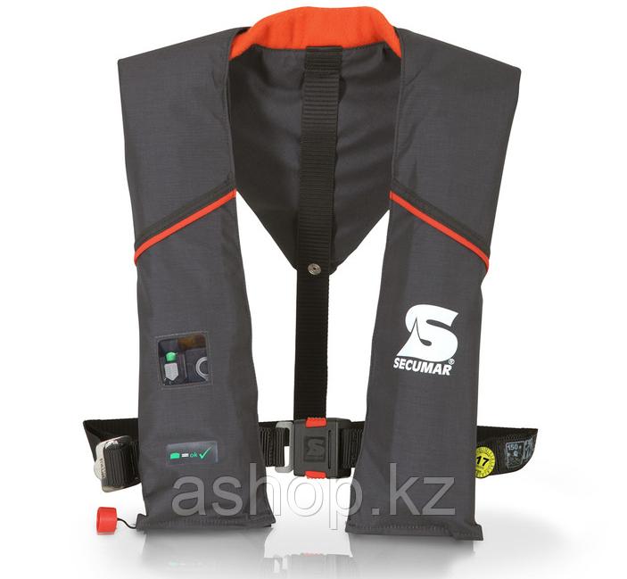 Спасательный жилет Secumar Ultra ax auto herness, Более 50 кг, Класс: EN396, Плавучесть: 150N, Цвет: Черный, (