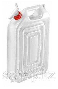 Канистра для воды Wehncke 154586, 16 л, Цвет: Бело-красный