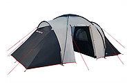 Палатка кемпинговая High Peak Como 6, Кол-во человек: 6, Входов/комнат: 2/2, Тамбуров: 1, Внутренняя палатка: