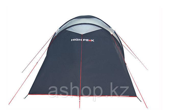Палатка кемпинговая High Peak Como 6, Кол-во человек: 6, Входов/комнат: 2/2, Тамбуров: 1, Внутренняя палатка: - фото 4