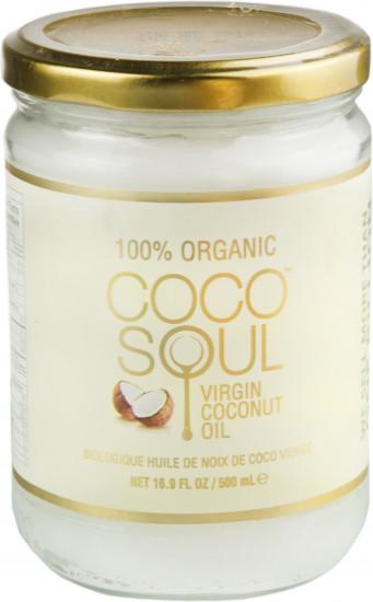 Масло нерафинированное кокосовое первого холодного отжима (пищевое), 500 мл