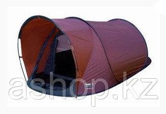 Палатка трекинговая (равнинная) High Peak Rapallo 2, Кол-во человек: 2, Входов/комнат: 1/1, Цвет: Бордово-чёрн