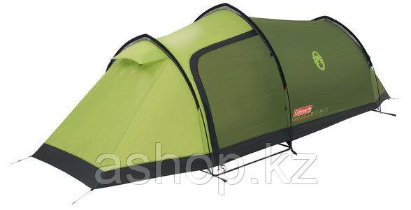Палатка трекинговая (равнинная) Coleman Caucasus 2, Кол-во человек: 2, Входов/комнат: 1/1, Тамбуров: 1, Внутре
