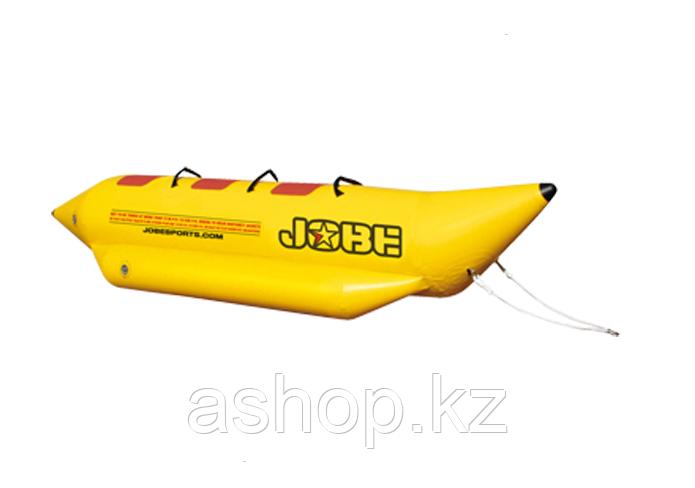 Буксируемый водный аттракцион банан Jobe Aqua Rider 3P, Кол-во мест: 3, 3 мягкие ручки из EVA, Безопасность на