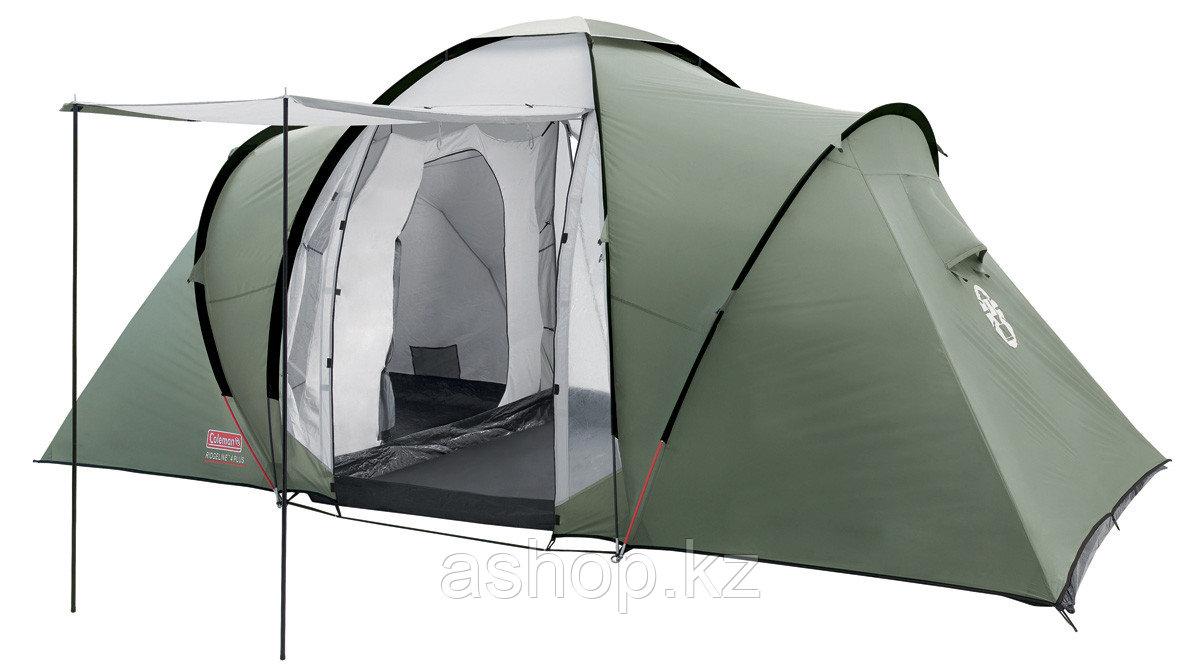 Палатка кемпинговая Coleman Ridgeline 6 Plus, Кол-во человек: 6, Входов/комнат: 2/2, Тамбуров: 1, Внутренняя п